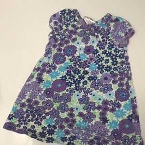 Hanna Anderson 90 (3t) cotton play dress, great